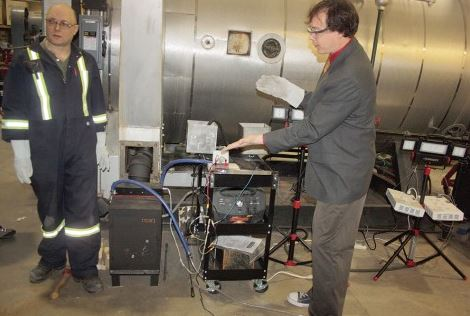 CNC research project turns woodstove heat to 40 watts of power using  Thermoelectric Generator - CNC Research Project Turns Woodstove Heat To 40 Watts Of Power